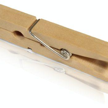 Mini Holzklammern zum Basteln, Beschriften und Dekorieren