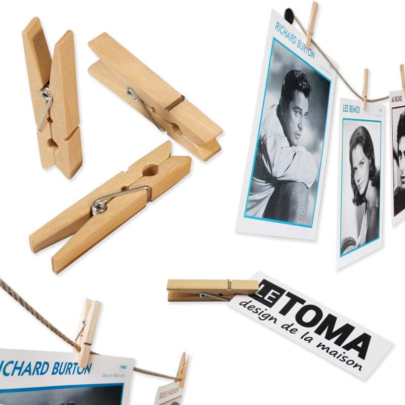 Fotoseil mit Klammern in vielen Designs - Collage