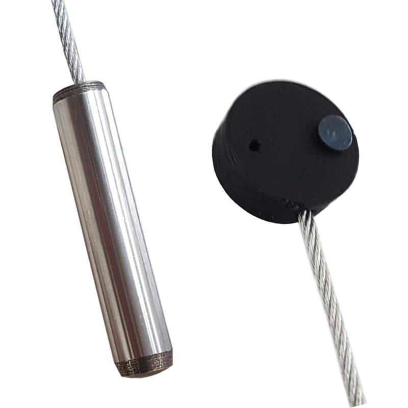 Fotoseil mit Magneten und Spezialbefestigung und Gewicht